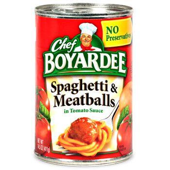 350x350 Chef Boyardee Spaghetti And Meatballs, 15 Oz. Can Chef Boyardee