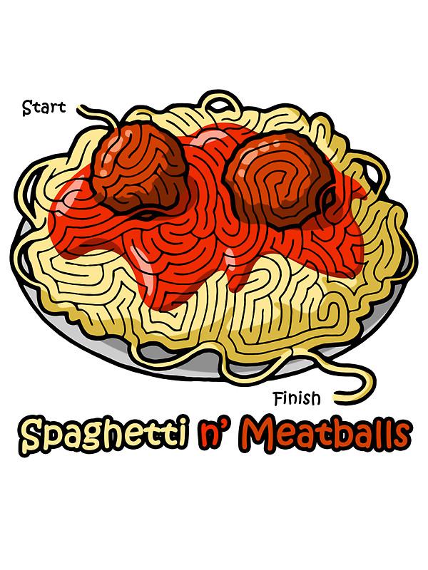 600x800 Maze Shirts Spaghetti