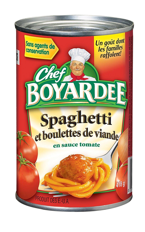 938x1500 Chef Boyardee Spaghetti And Meatballs, 14.5 Ounce