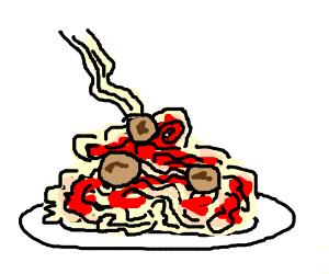 300x250 Spaghetti And Meatballs
