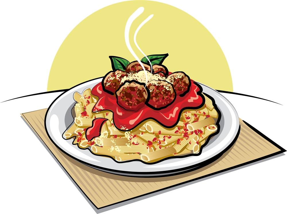 1000x745 Spaghetti Clipart Meat