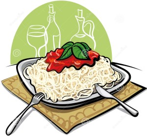 300x278 And Spaghetti Fundraiser Tickets Clipart