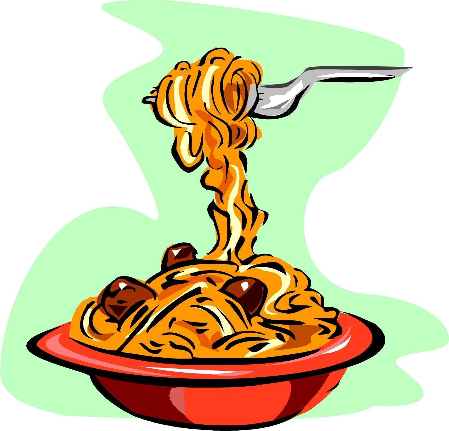 1500x1439 Spaghetti Pasta Clipart The Cliparts Databases