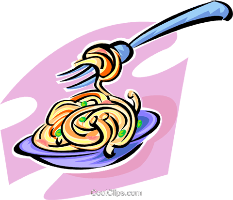 480x413 Spaghetti Royalty Free Vector Clip Art Illustration Vc062849