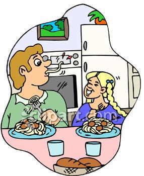 286x350 Lunch Clipart Spaghetti Dinner