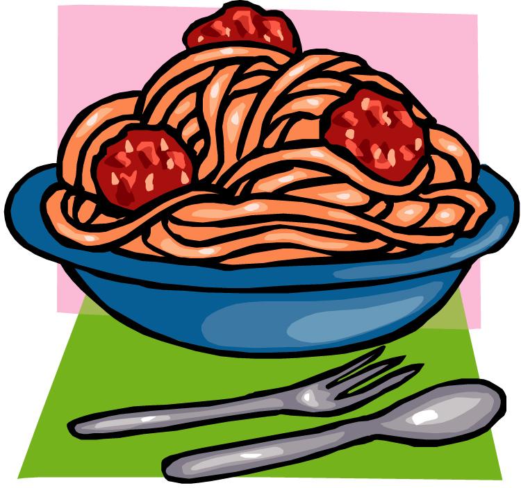 750x703 Spaghetti Dinner Clipart