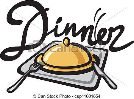 450x332 Clipart Dinner