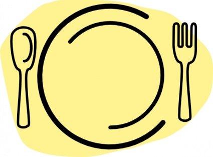 425x313 Dinner Invitation Clip Art, Vector Dinner Invitation