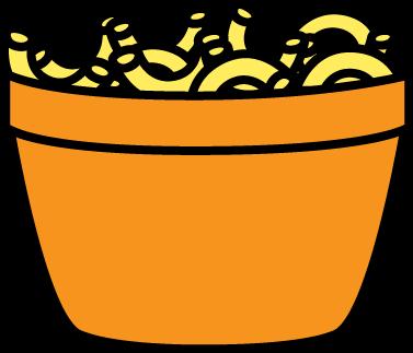 377x323 Bowl Clipart Bowl Spaghetti