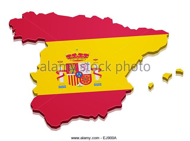 640x473 Euro Symbol With The Spanish Flag Spain Stock Photos Amp Euro Symbol