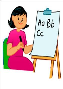 250x353 Desk Clipart Spanish Teacher
