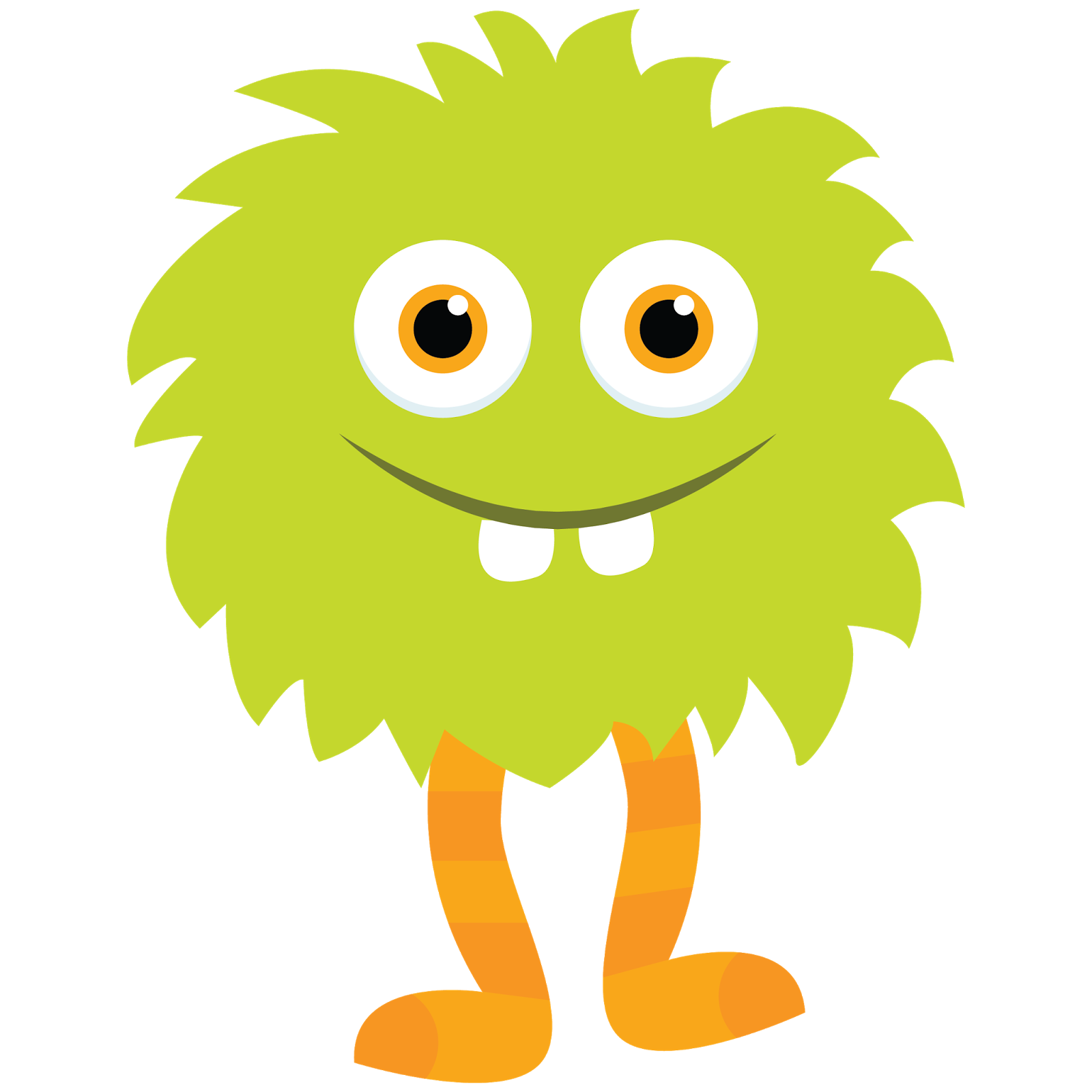 1600x1600 Monster Clipart With Spanish Class Logo 2
