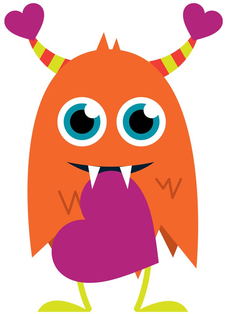 736x1008 Monster Clipart With Spanish Class Logo 3