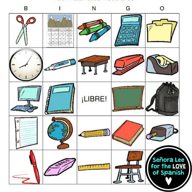 736x736 48 Best Spanish Class Objects Los Objetos De La Clase Images