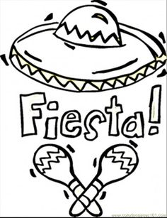236x307 Enjoy These Fiesta Coloring Pages, Many Of Them Free Printable