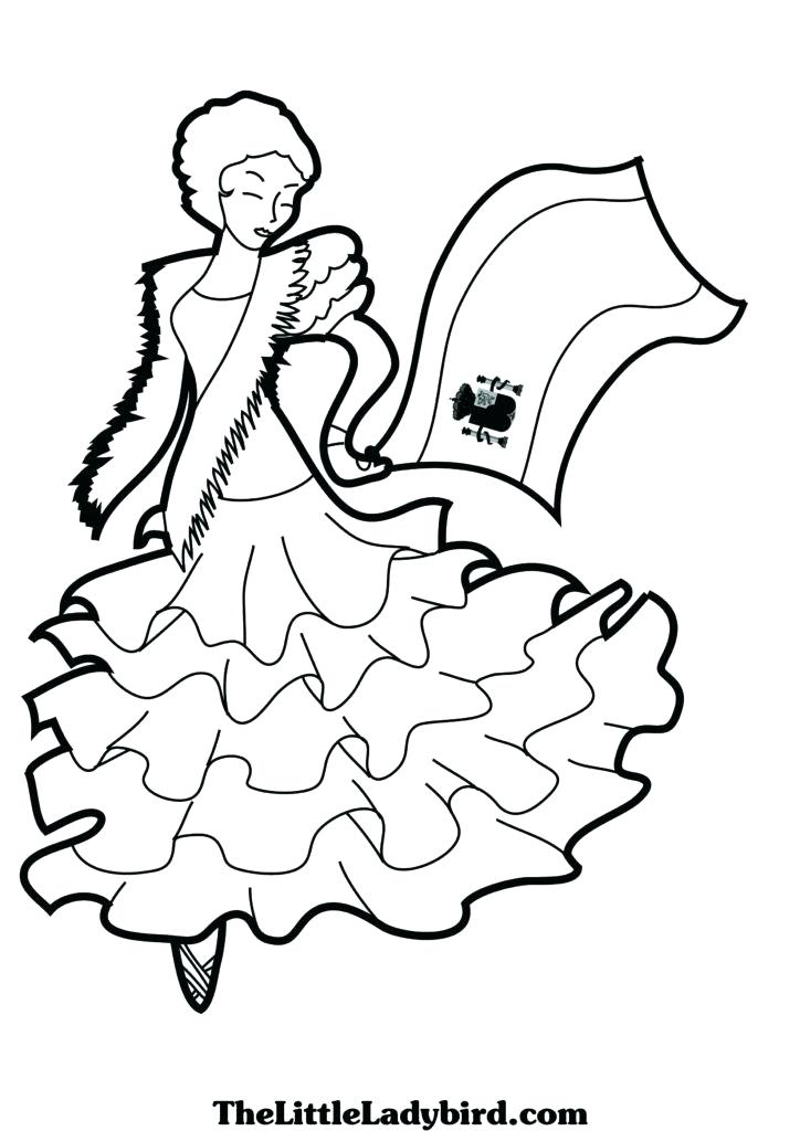 724x1024 Spanish Coloring Pages
