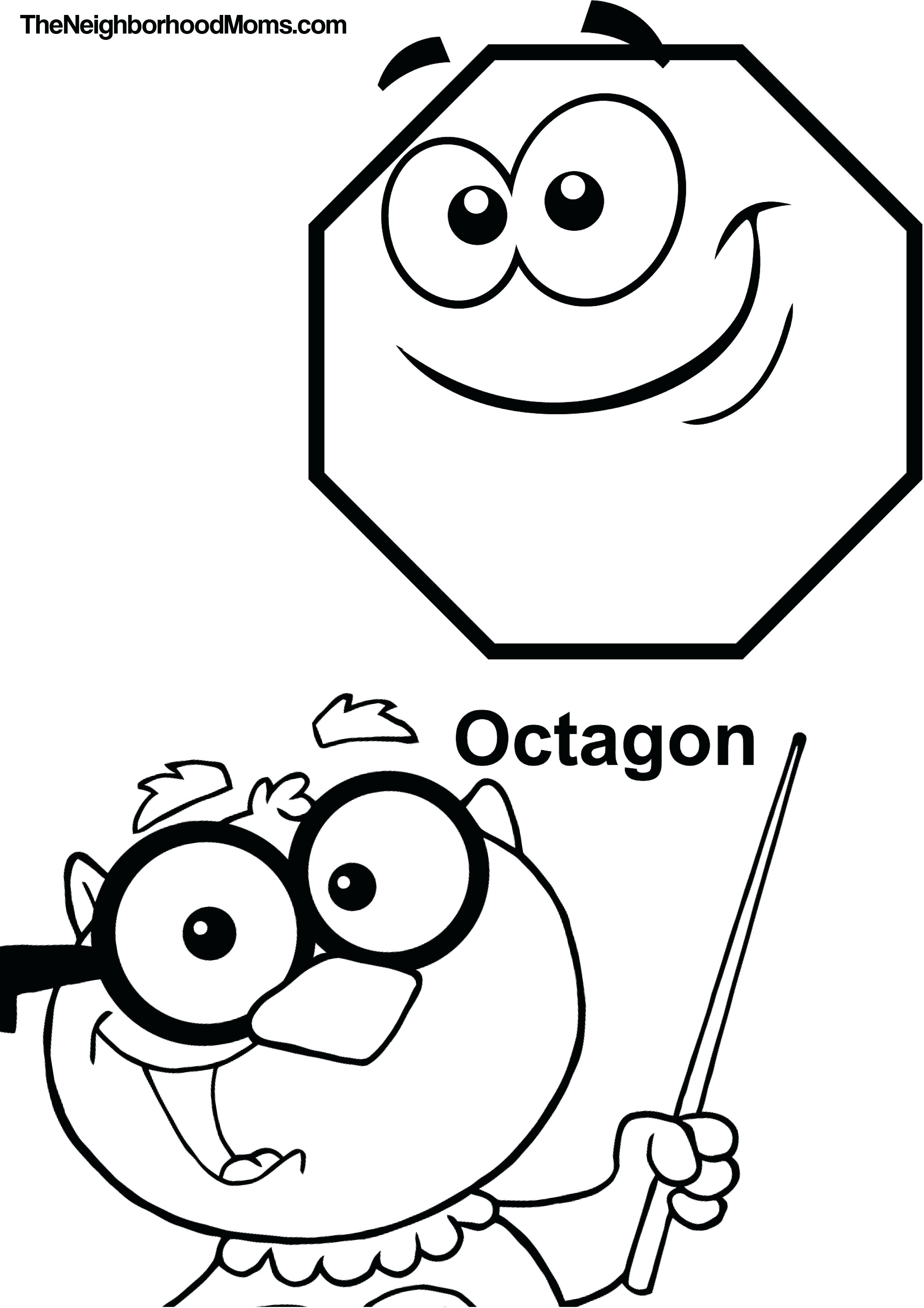 2479x3509 Coloring Pages Octagon Coloring Page Pages Octagon Coloring Page