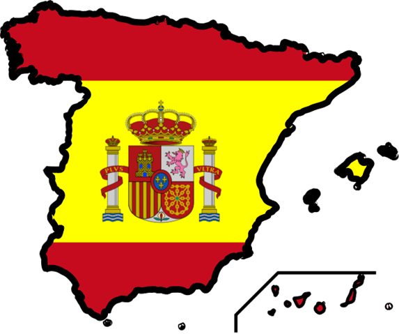 Spanish Flag Clipart