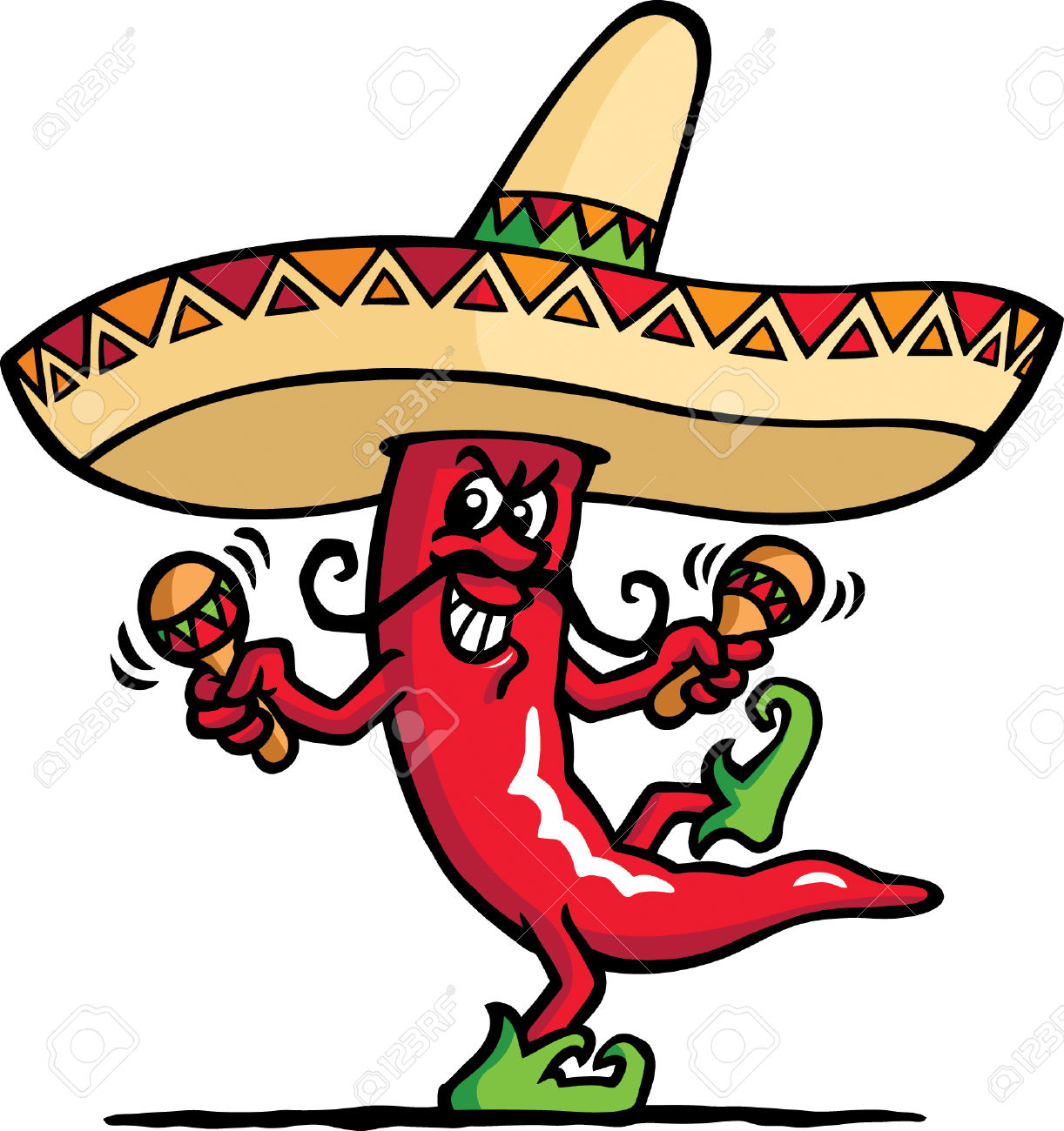 1222x1300 Pepper Clipart Spanish Restaurant