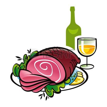 450x450 Elegant Food Wine Clipart