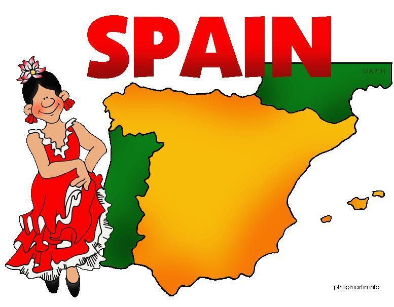 777x606 Spanish Lady Clip Art