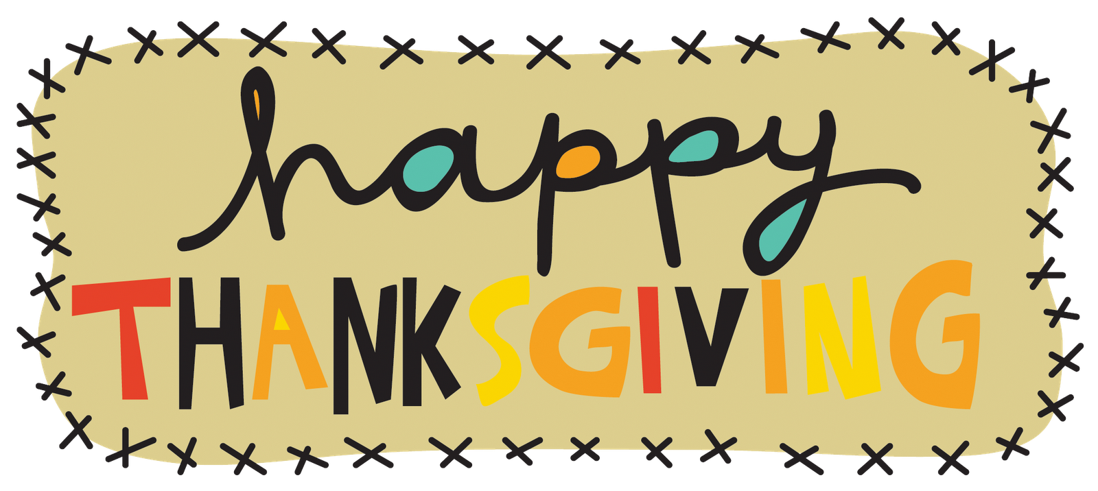 1600x716 Happy Thanksgiving Clipart In Spanish