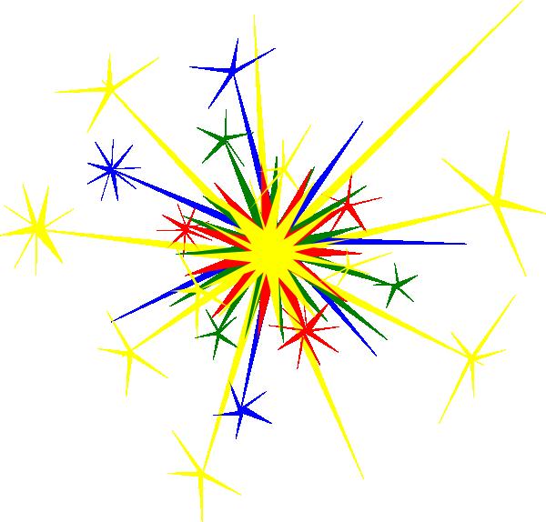 600x574 Newnhamm Multicolored Sparkle Clip Art