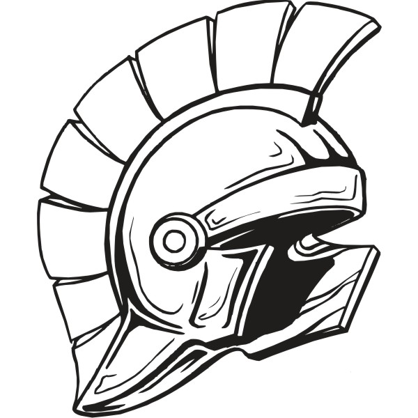 600x600 Greek Clipart Sparta