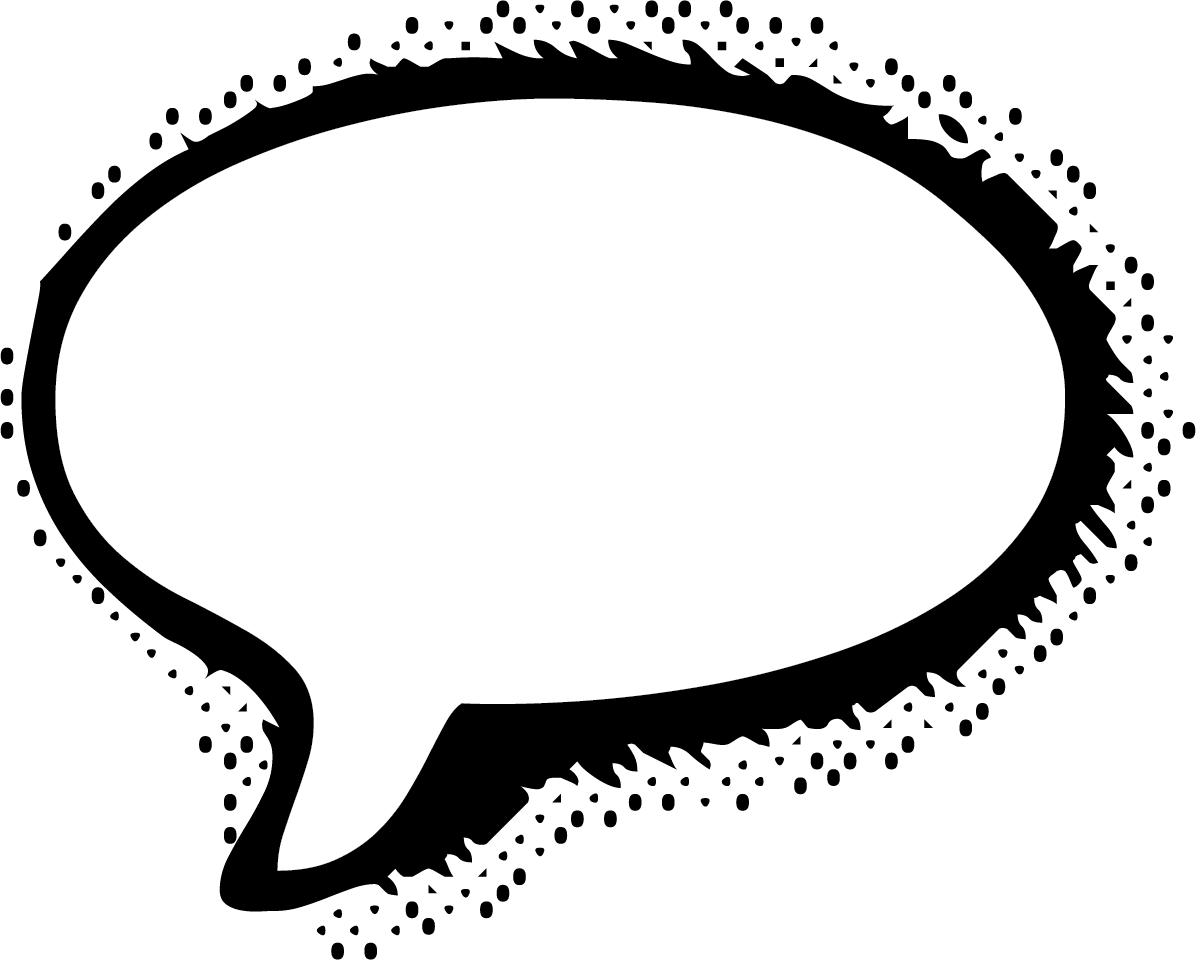 1196x960 Speech Bubble Cartoon Transparent Png