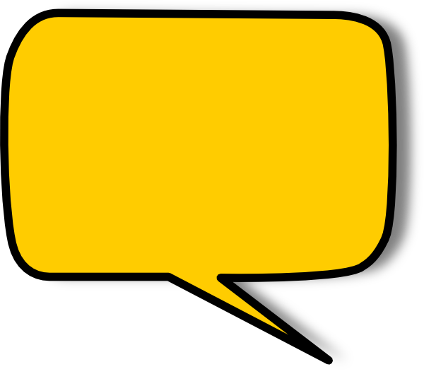 600x529 Speech Bubble Clip Art