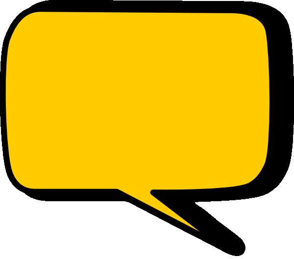 600x529 Speech Bubble Clip Art