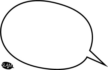 360x234 Speech Bubble Template