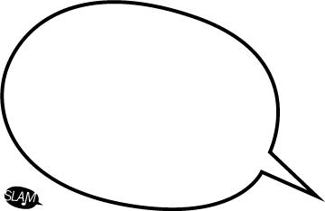 360x234 Speech Bubble Template