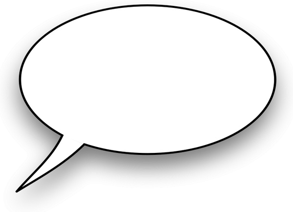 600x434 Cartoon,speech Bubble Free Vector In Open Office Drawing Svg
