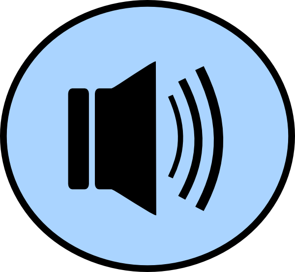 600x555 Speaker Button Png, Svg Clip Art For Web