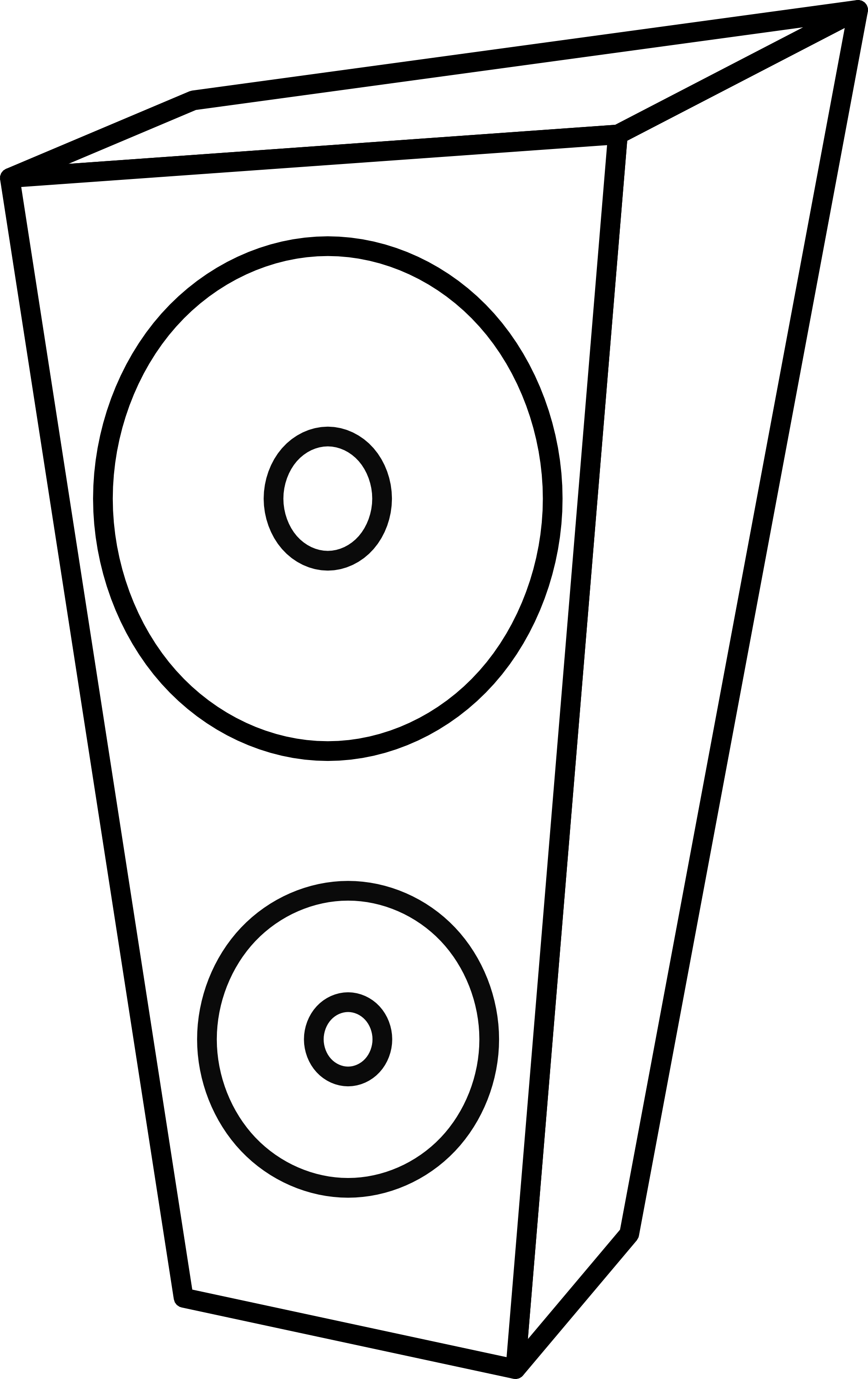1969x3128 Speaker Clipart Black And White