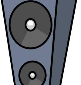 267x280 Speaker Vector Vector Misc Free Vector Free Download