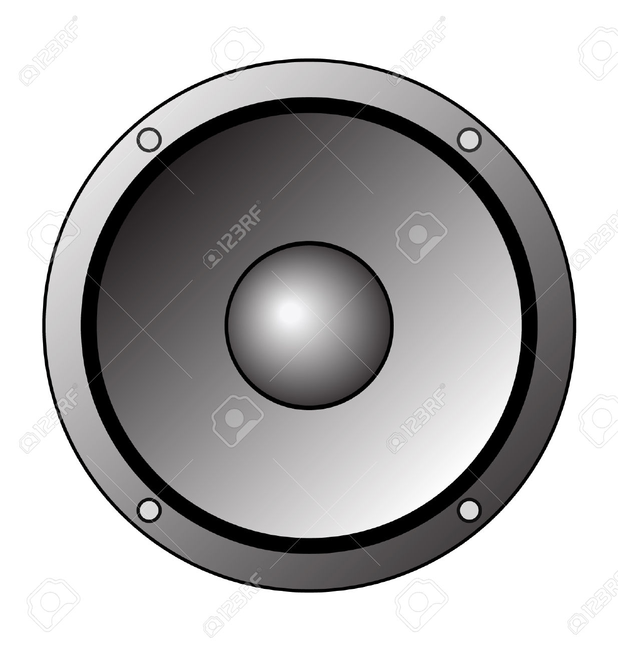 1235x1300 Speakers Clipart Vector Art