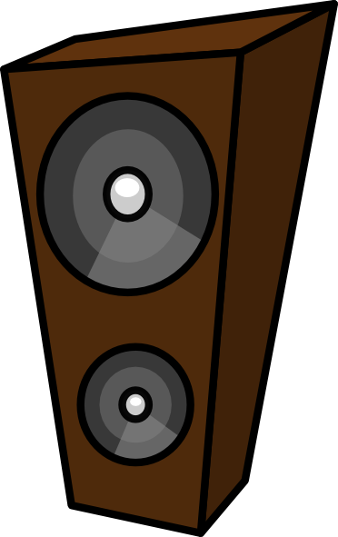 372x591 Cartoon Speaker Clip Art