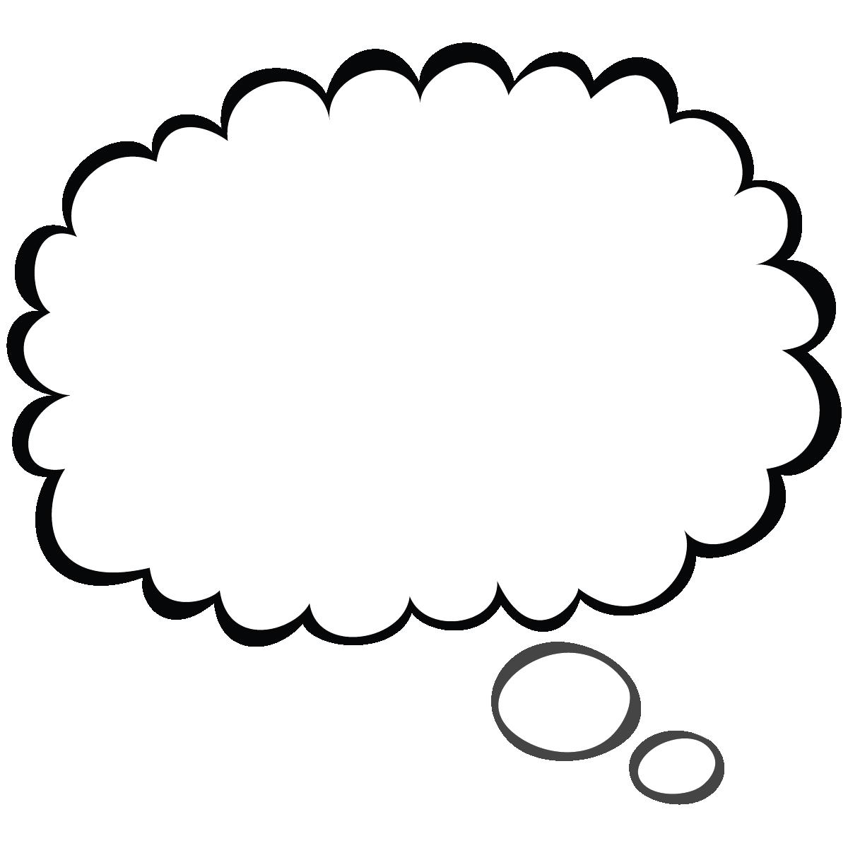 1200x1200 Word Bubble Clip Art
