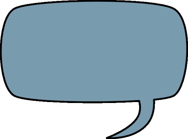 600x444 Speech Bubble Clip Art