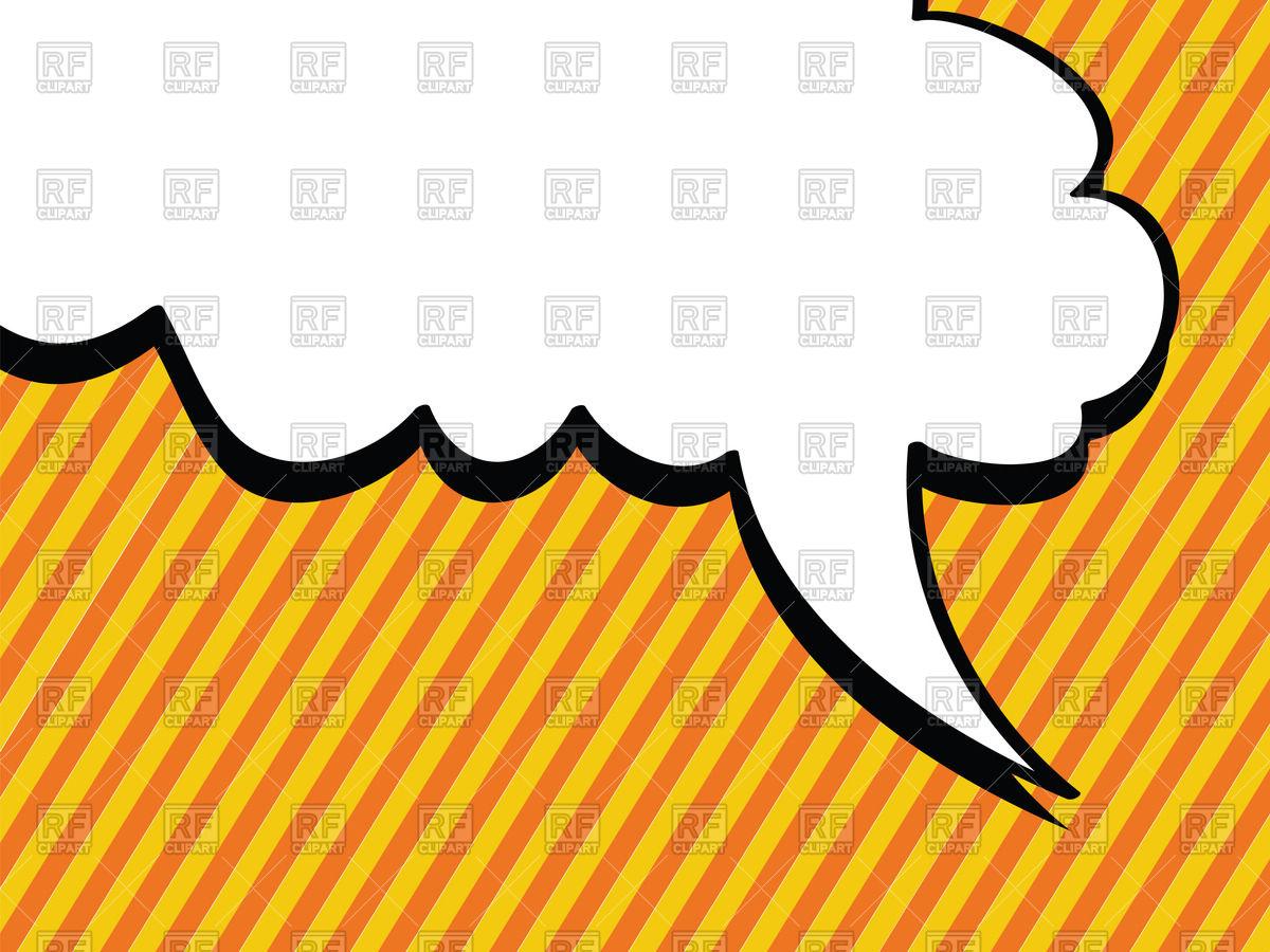 1200x900 Speech Bubble In Pop Art Style Royalty Free Vector Clip Art Image