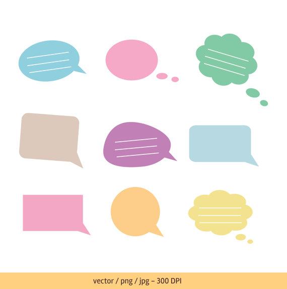 570x573 Text Bubble, Speech Bubble, Thought Bubble, Vector Text Bubble