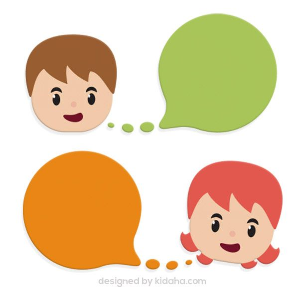 Speech Clipart Free