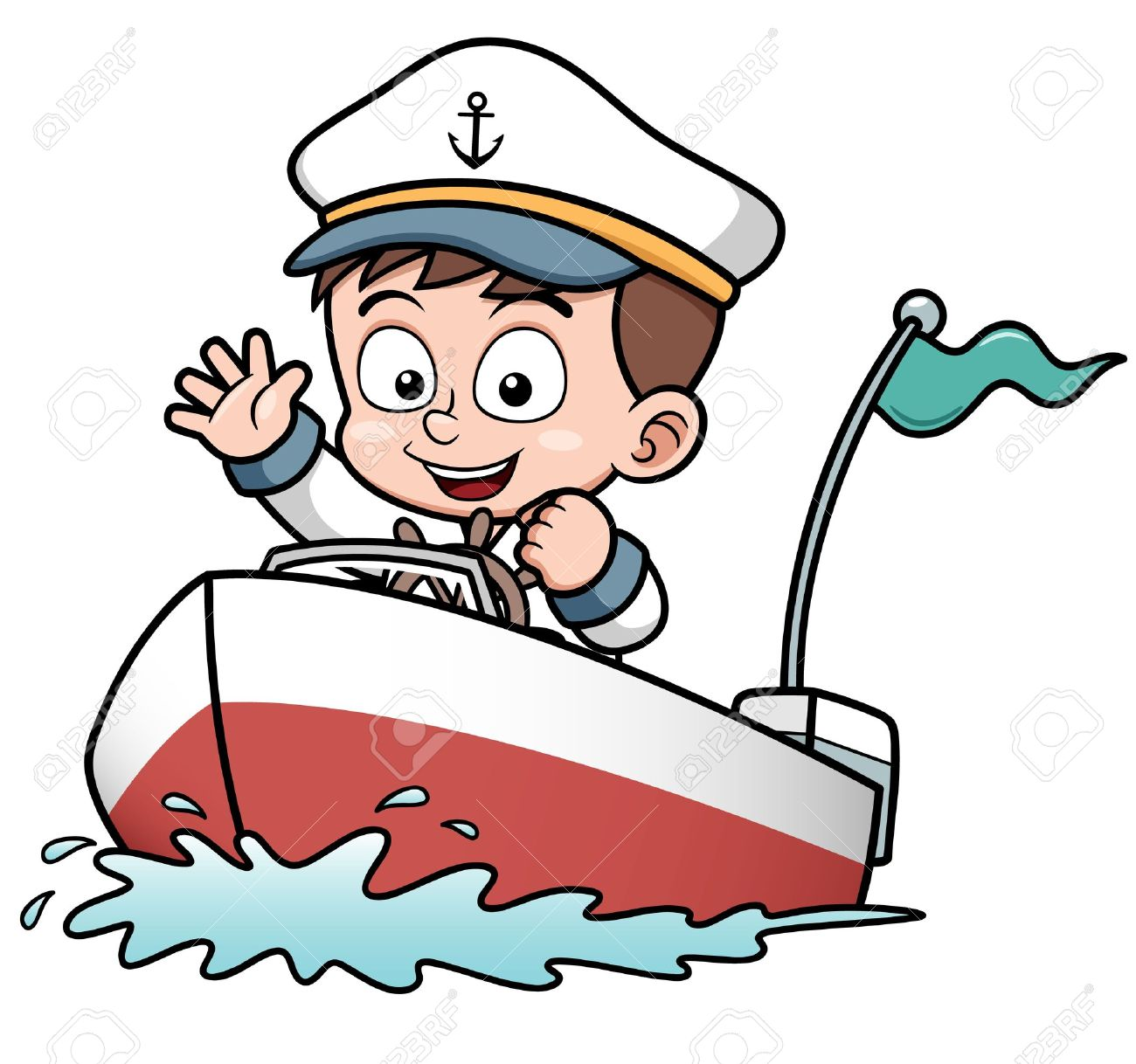 Speed Boats Clipart