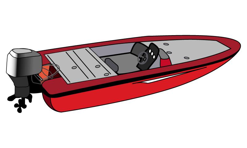 800x480 Fishing Boat Clipart Motor Boat
