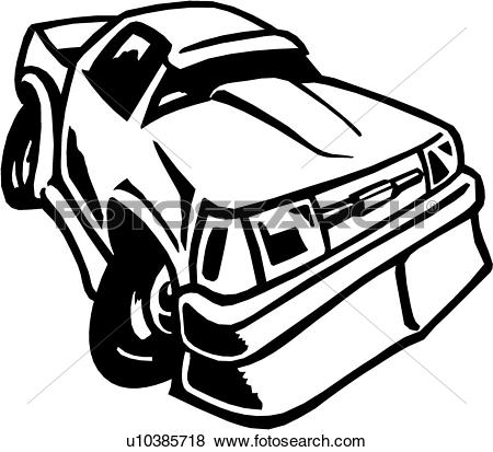 Speeding Car Clipart