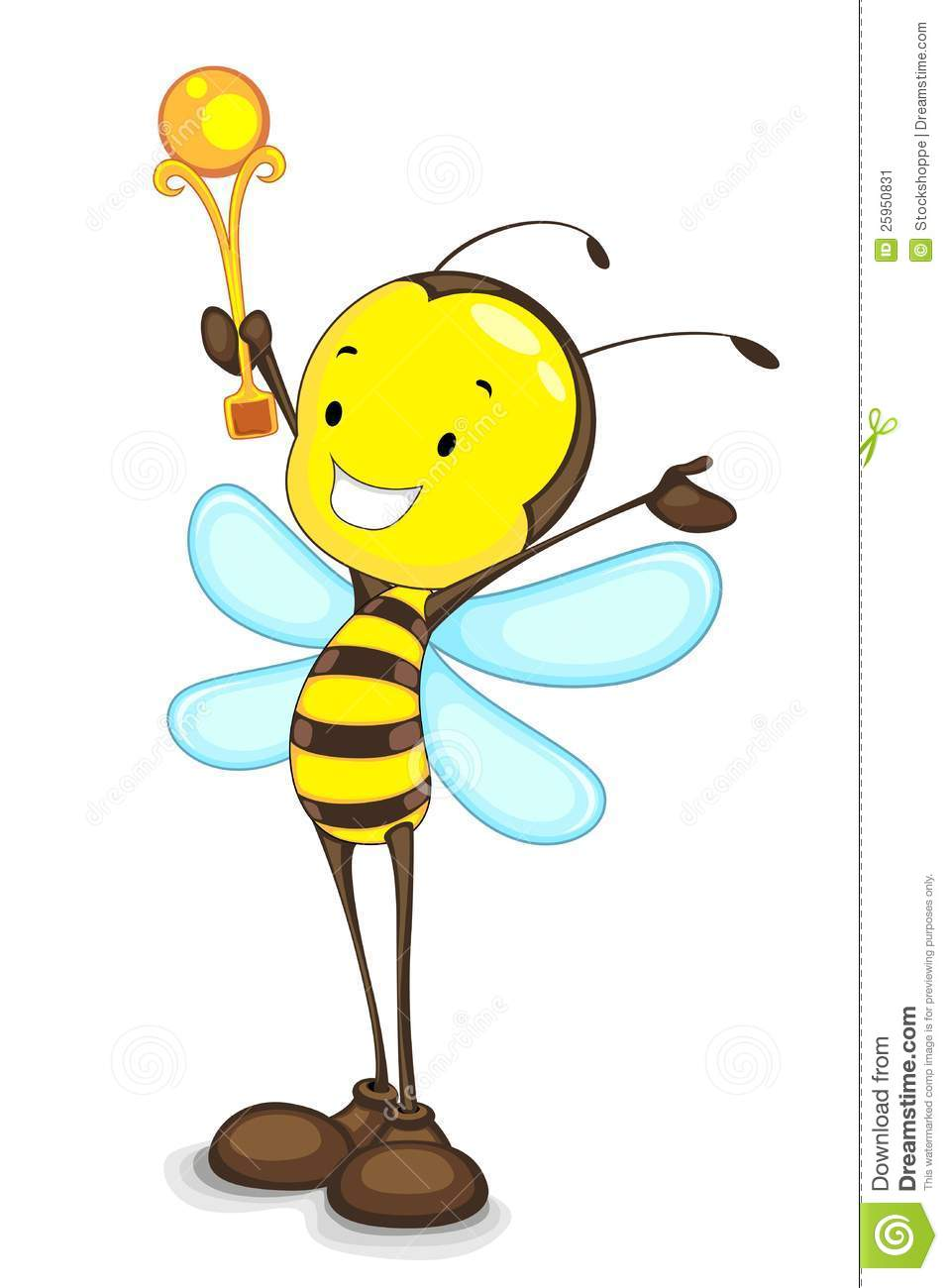 957x1300 Bees Clipart Trophy