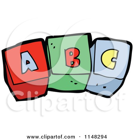 450x470 Clipart Illustration Of A Stack Of Colorful Toy Alphabet Blocks