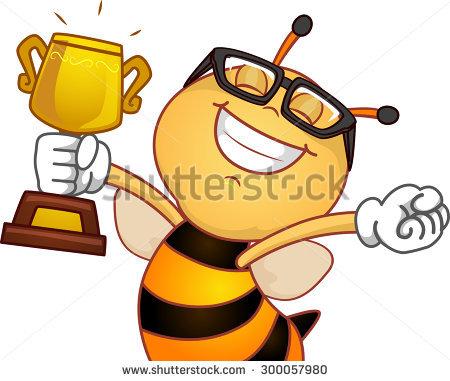 450x381 Trophy Clipart Spelling Bee